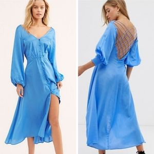 Free People Later Days dress long sleeve 4 NEW
